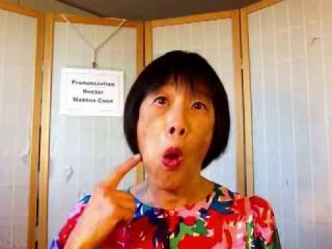 Pronunciation Workout - Poke your cheeks and clean your teeth with your tongue