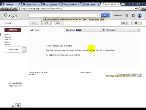 How to Change Default Switch Gmail Account Standard View to HTML View