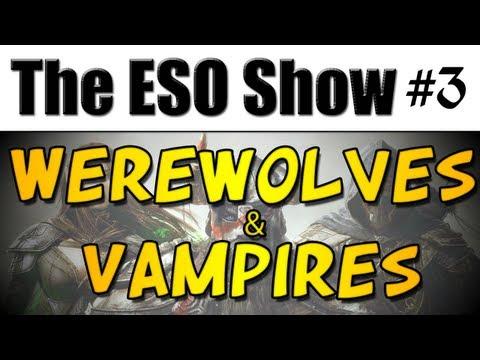 The Elder Scrolls Online Show #3 - Werewolves & Vampires (1080p)