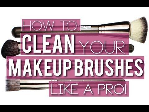 How To: Clean Your Makeup Brushes {Makeup Geek}