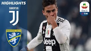 Juventus 3-0 Frosinone   La Juve batte il Frosinone con l'aiuto di Ronaldo e Dybala   Serie A