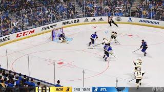 NHL 22 - Boston Bruins vs St. Louis Blues - Gameplay (PS5 UHD) [4K60FPS]
