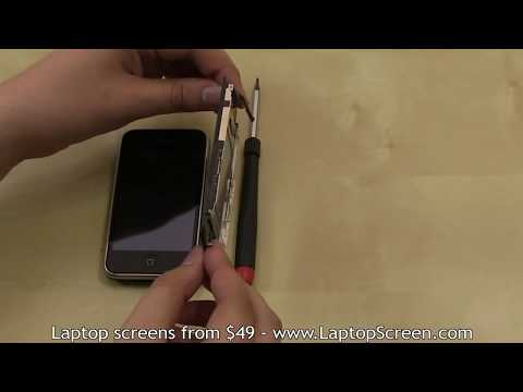 iPhone 3G screen replacement / digitizer glass and LCD reinstallation instructions