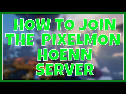 How To Join The Pixelmon Hoenn Server (How To Install Pixelmon + Custom NPCS)