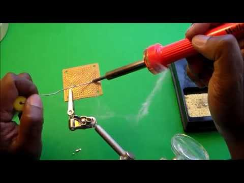 Soldering and De-soldering Electronic Components Part I