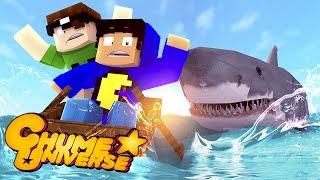 Minecraft: O MISTÉRIO DO HOMEM-TUBARÃO! (Chume Universe #5)