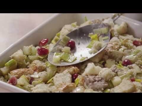 How to Make Cranberry, Sausage, and Apple Stuffing   Stuffing Recipes   AllRecipes