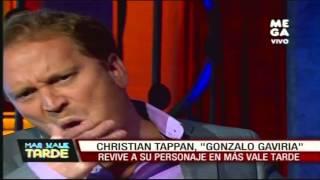 Christian Tappan revive a su personaje Gonzalo Gaviria en Más Vale Tarde
