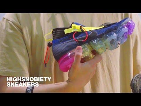 Meet the Sneaker Designer Creating Technical Nike VaporMax Customs