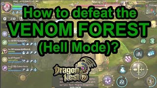 Dragon nest M - Dr k Hell nest 10s    How to dodge the puppy