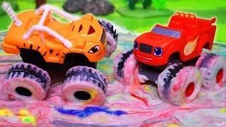 Download Вспыш и чудо машинки: Мультики с игрушками. День красок! Машинки Вспыш. Мультфильмы для детей Video