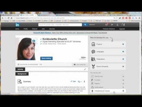 How to Manage LinkedIn Skills Endorsements