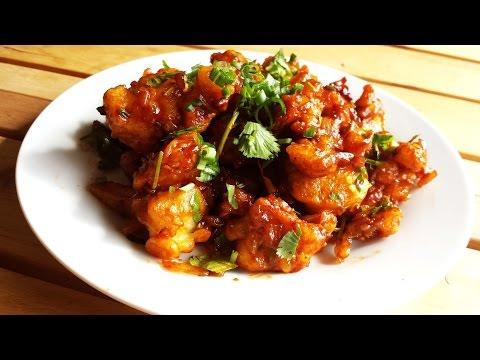 Crispy Gobi/Cauliflower Manchurian| Indo-Chinese Fusion Starter Recipe|Vegetarian/Vegan