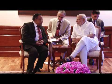 Bangladesh Foreign Minister Abul Hassan Mahmood Ali calls on PM Modi
