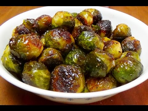 Recipe for Roasted Brussel Sprouts - Your Green Veggie for St Patrick's Day