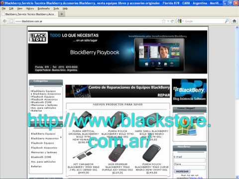 Servicio Tecnico Blackberry
