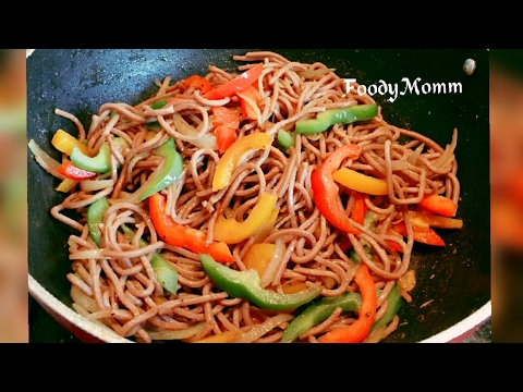 Chinese Hakka Noodles Recipe| How to Make Authentic Chowmein | Quick Recipe : Hakka Noodles