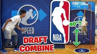 MY NBA DRAFT COMBINE DEBUT!