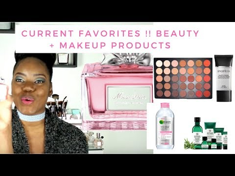 My Current Favorites! : Garnier Micellar Water, Benefit's Matte Primer ,Scented Candles + More