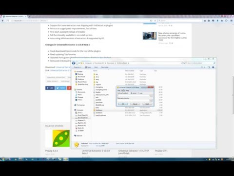 Create portable versions of software with Universal Extractor