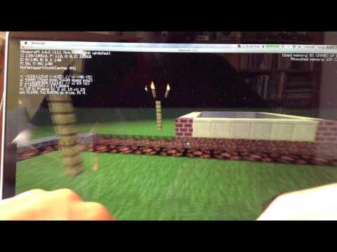 Minecraft FPS Test -  MacBook Pro Retina 15.4'' [HD]