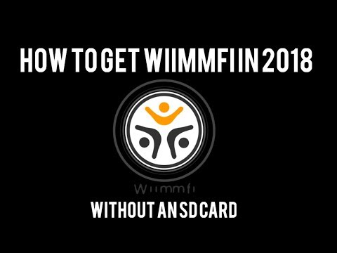 How to get wiimmfi on the Wii without an SD Card (2018)
