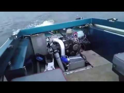 Diesel Jet Boat Test Drive