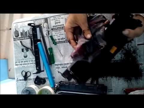 Refilling Printer Torner, How to Refill Canon 108 / 303 / 703 OR  HP 12A Cartage ?