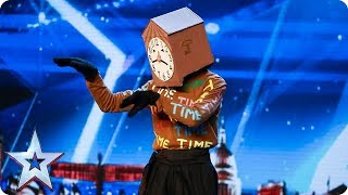 Tick-tock, don't stop, it's time for a DANCING CLOCK! | Auditions | BGT 2018