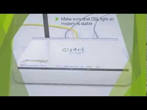 Wi Fi Settings in PTCL Tenda W150D Modem