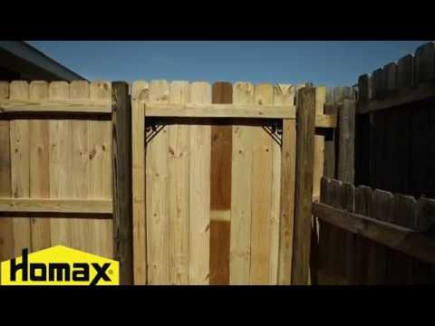 How To - Homax Products EasyGate No-Sag Gate Kit