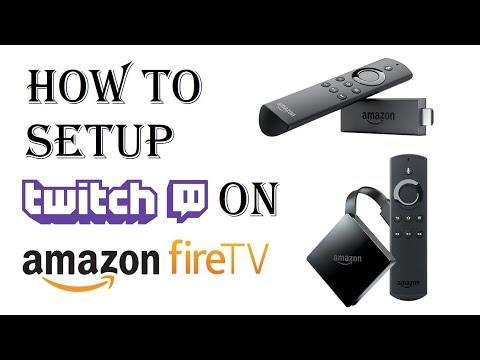 How to Setup Twitch on Amazon Fire Stick - Twitch on Amazon Fire TV