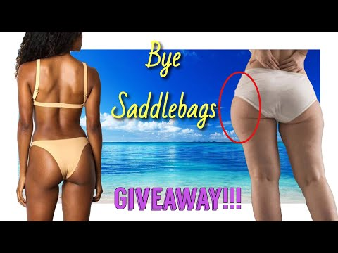How To Lose Side Thigh Fat In A Week | SaddleBags Workout | Burn Fat Fast!!!