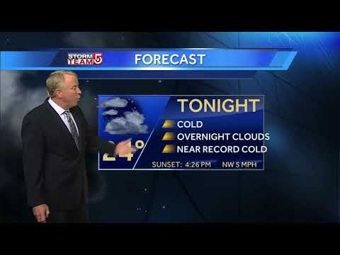 Video: Record-setting cold sticking around