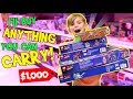 I Will Buy ANYTHING You Can Carry Challenge Cayson39s 6th Birthday