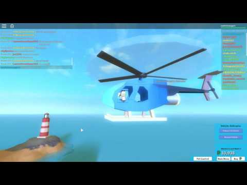 Roblox the plaza helicopter tutorial