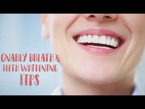 Easy Ways to STOP Bad Breath & Whiten Teeth on the Go! Healthy Smile, Fresh Breath,