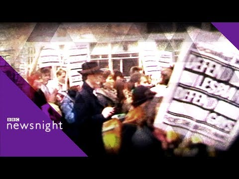 Gay rights: Life under Section 28 - BBC Newsnight