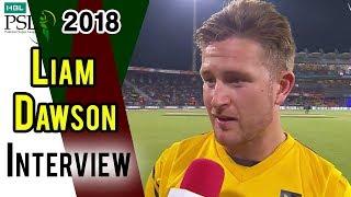 Liam Dawson Interview   Peshawar Zalmi Vs Quetta Gladiators    Eliminator 1   20 Mar   HBL PSL 2018