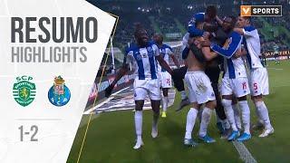 Highlights Resumo Sporting 1 2 FC Porto Liga 1920 15