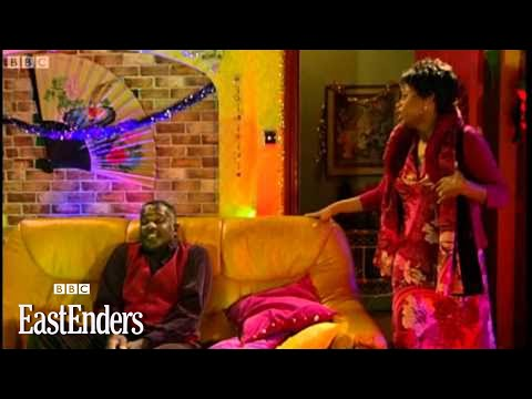 Angela and Rudolph perform Christmas Island - EastEnders - BBC