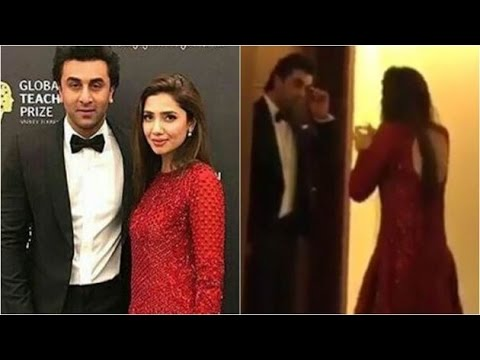 Is Ranbir Kapoor trying to woo Mahira Khan in this video?