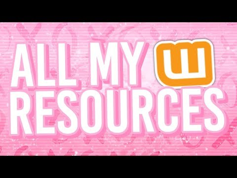 All My Wattpad Resources | (Part 1)