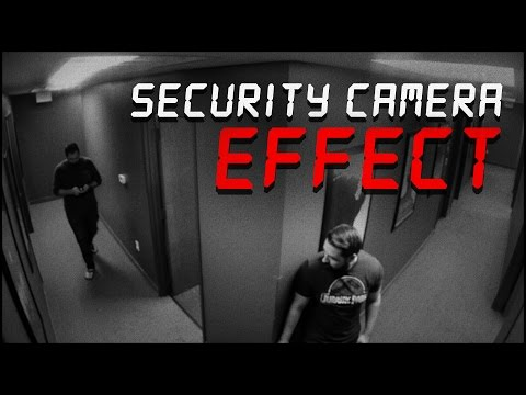 Security Camera & X-Ray Effect