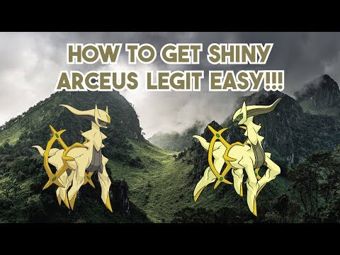 How to Get Shiny Arceus LEGIT in Pokemon Diamond and Pearl