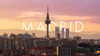MADRID   Timelapse & Hyperlapse 8K