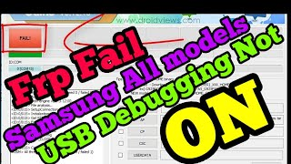 Samsung J7 Max G615F usb debubbing on without combination