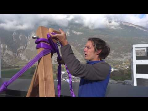 Tutorial: How to build an A Frame for Slacklining