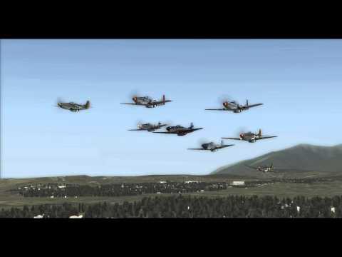 DCS P51/TF51 Mustangs on Virtual Aerobatics Server