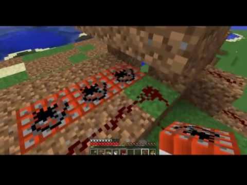 Minecraft Tutorial: Building a TNT Cannon. (Survival)